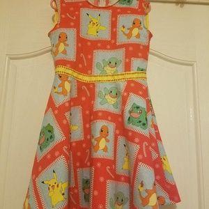 Little Girl's Pokemon Holiday Dress